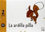 Portada de PROYECTO TORBELLINO: LA ARDILLA PILLA 2 AÑOS  CARPETA
