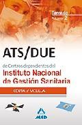 Portada de ATS/DUE DE CENTROS DEPENDIENTES DEL INSTITUTO NACIONAL DE GESTIONSANITARIA. TEMARIO : CEUTA Y MELILLA