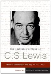 Portada de THE COLLECTED LETTERS OF C.S. LEWIS, VOLUME 3