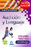 Portada de CUERPO DE MAESTROS. AUDICION Y LENGUAJE. VOLUMEN PRACTICO