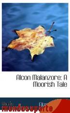 Portada de ALCON MALANZORE: A MOORISH TALE