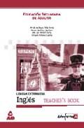Portada de INGLES NOWTHEN, EDUCACION SECUNDARIA DE ADULTOS