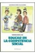 Portada de EDUCAR EN LA COMPETENCIA SOCIAL: UN PROGRAMA PARA LA TUTORIA CON ADOLESCENTES