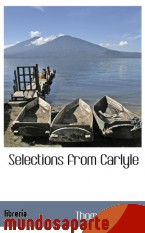 Portada de SELECTIONS FROM CARLYLE
