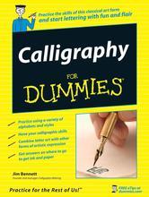Portada de CALLIGRAPHY FOR DUMMIES