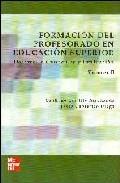 Portada de FORMACION DEL PROFESORADO EN EDUCACION SUPERIOR: DESARROLLO CURRICULAR Y EVALUACION