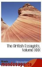Portada de THE BRITISH ESSAYISTS, VOLUME XXX