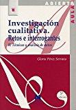 Portada de INVESTIGACION CUALITATIVA II RETOS E INTERROGANTES : TECNICAS Y ANALISIS DE DATOS