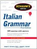 Portada de SCHAUM'S OUTLINE OF ITALIAN GRAMMAR (SCHAUM'S OUTLINE SERIES)