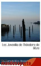 Portada de LES JUVENILIA DE THÉODORE DE BÈZE