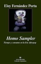 Portada de HOMO SAMPLER