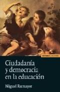 Portada de CIUDADANIA Y DEMOCRACIA EN LA EDUCACION