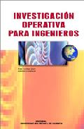 Portada de INVESTIGACION OPERATIVA PARA INGENIEROS
