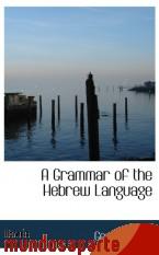 Portada de A GRAMMAR OF THE HEBREW LANGUAGE