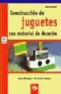 Portada de CONSTRUCCION DE JUGUETES CON MATERIAL DE DESECHO