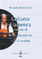 Portada de GUITARRA FLAMENCA. LO CONTEMPORÁNEO Y OTROS ESCRITOS