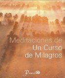 Portada de MEDITACIONES DE UN CURSO DE MILAGROS