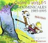 Portada de PAGINAS DOMINICALES 1985-1995 (CALVIN Y HOBBES) (ED. BILINGÜE INGLES-ESPAÑOL)