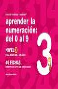 Portada de APRENDER LA NUMERACION DEL 1 AL 9, NIVEL 3