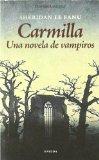 Portada de CARMILLA: UNA NOVELA DE VAMPIROS