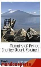 Portada de MEMOIRS OF PRINCE CHARLES STUART, VOLUME II