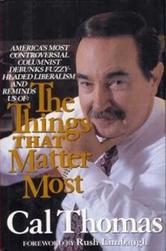 Portada de THE THINGS THAT MATTER MOST