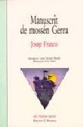 Portada de MANUSCRIT DE MOSSSEN GERRA
