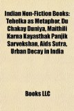 Portada de INDIAN NON-FICTION BOOKS (STUDY GUIDE):: BOOKS BY R. K. NARAYAN, INDIAN BIOGRAPHIES, INDIAN HISTORY BOOKS, THE DISCOVERY OF INDIA, RAJATARANGINI, ... RASO, AKBARNAMA, THE HISTORY OF INDIA