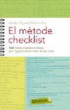 Portada de EL MÈTODE CHECKLIST (EBOOK)