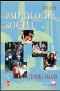 Portada de PSICOLOGIA SOCIAL