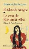Portada de BODAS DE SANGRE: LA CASA DE BERNARDA ALBA