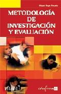 Portada de METODOLOGIA DE INVESTIGACION Y EVALUACION