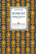 Portada de ELOGIO DEL REFRENAMIENTO : ANTOLOGIA POETICA