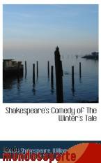 Portada de SHAKESPEARE`S COMEDY OF THE WINTER`S TALE