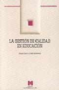 Portada de LAS GESTION DE CALIDAD EN EDUCACION