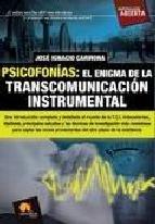Portada de PSICOFONÍAS. EL ENIGMA DE LA TRANSCOMUNICACIÓN INSTRUMENTAL