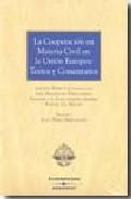 Portada de COOPERACION EN MATERIA CIVIL UNION EUROPEA TEXTOS
