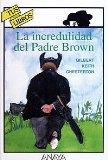 Portada de LA INCREDULIDAD DEL PADRE BROWN