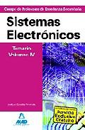 Portada de CUERPO DE PROFESORES DE ENSEÑANZA SECUNDARIA: SISTEMAS ELECTRONICOS: TEMARIO: VOLUMEN IV