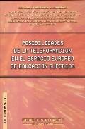 Portada de POSIBILIDADES DE LA TELEFORMACION