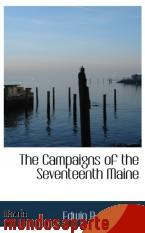 Portada de THE CAMPAIGNS OF THE SEVENTEENTH MAINE