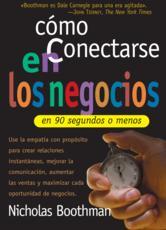 Portada de COMO CONECTARSE EN LOS NEGOCIOS EN 90 SEGUNDOS O MENOS - EBOOK