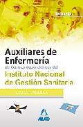 Portada de AUXILIARES DE ENFERMERIA DE CENTROS DEPENDIENTES DEL INSTITUTO NACIONAL DE GESTION SANITARIA. TEMARIO
