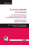Portada de EL SALARIO MINIMO EN ALEMANIA