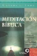 Portada de MEDITACION BIBLICA