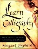 Portada de LEARN CALLIGRAPHY