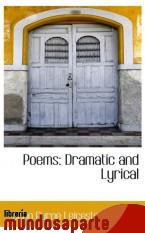 Portada de POEMS: DRAMATIC AND LYRICAL