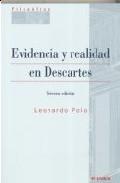 Portada de EVIDENCIA Y REALIDAD EN DESCARTES