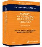 Portada de MANUAL DE DERECHO DE LA UNION EUROPEA