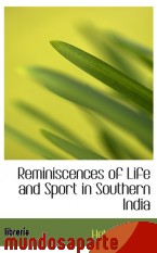 Portada de REMINISCENCES OF LIFE AND SPORT IN SOUTHERN INDIA
